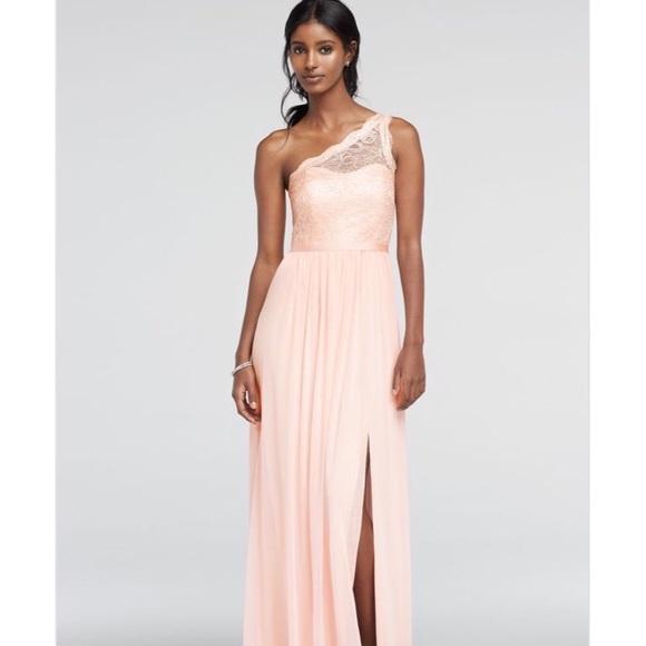 David\'s Bridal Dresses | Davids Bridal Long Bridesmaid Or Prom Dress ...